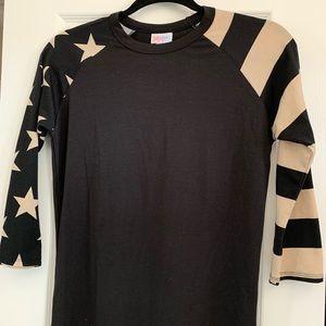 Lularoe Americana Flag Stars Stripes RANDY XXS